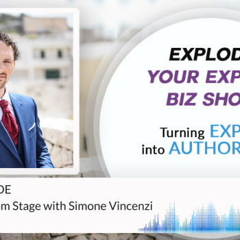 BONUS EPISODE How To Sell From Stage with Simone Vincenzi