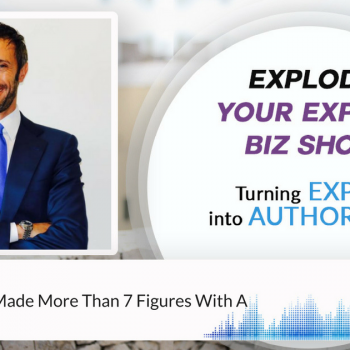 Episode #101 How Gianluca Made More Than 7 Figures With A Book Launch