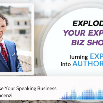 Episode #116 How To Monetise Your Speaking Business