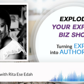 Episode #25 Stop Being Lost with Rita Ese Edah