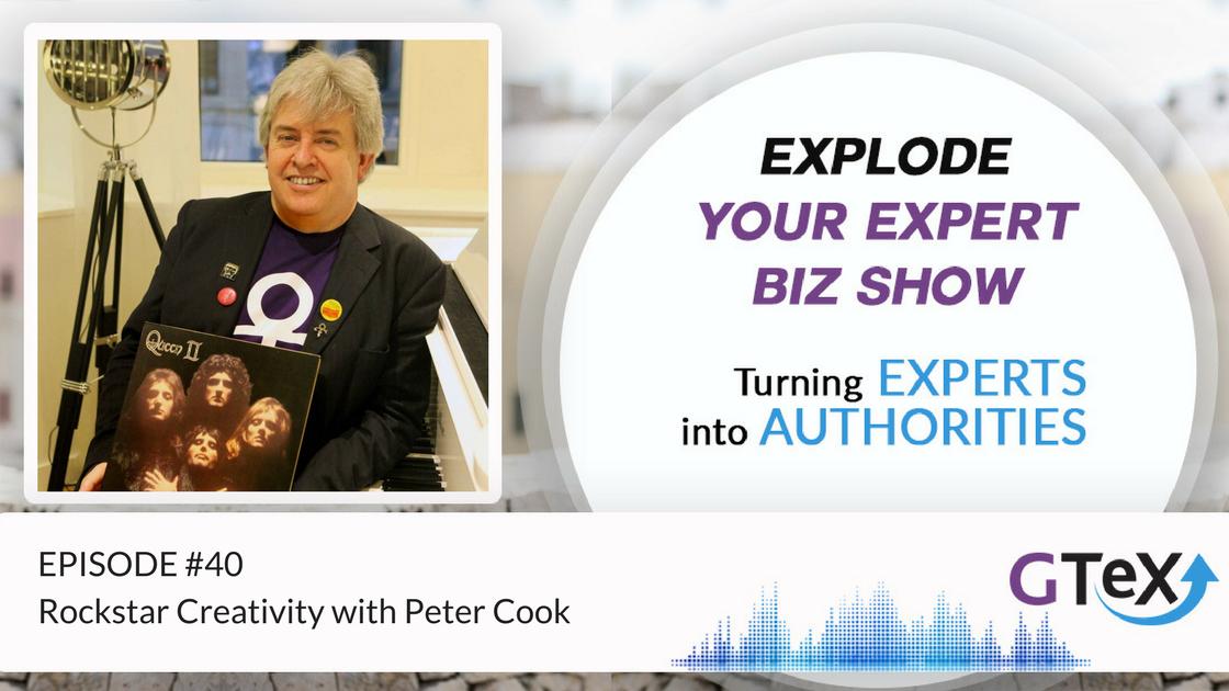 Episode #40 Rockstar Creativity with Peter Cook