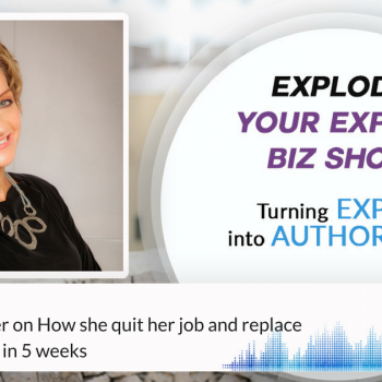Episode #52 Denise Mortimer on How she quit her job and replace full time income in 5 weeks