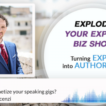 Episode #61 How do you monetize your speaking gigs?