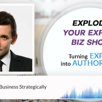 Episode #75 How Run Your Business Strategically with Elliot Kay