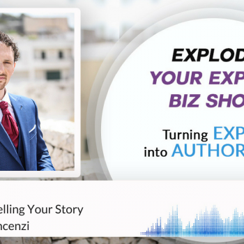 Episode #135 The Power Of Selling Your Story With Simone Vincenzi