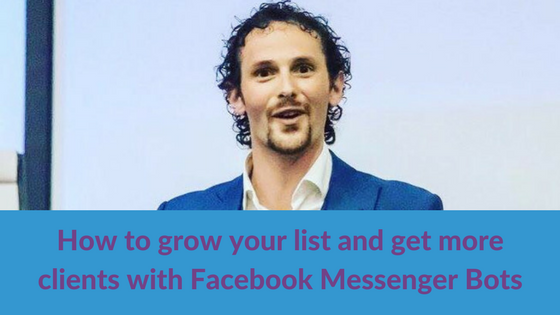 how to grow your list using messenger bot