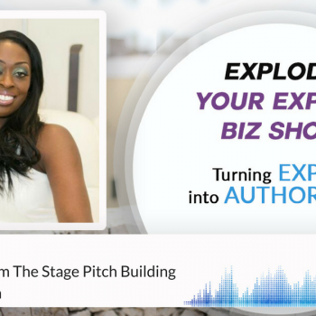 Episode #164 Live Selling From The Stage Pitch Building With Dilys Sillah