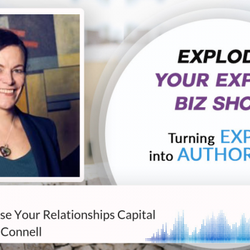 Episode #176 How To Monetise Your Relationships Capital With Kristen O'Connell