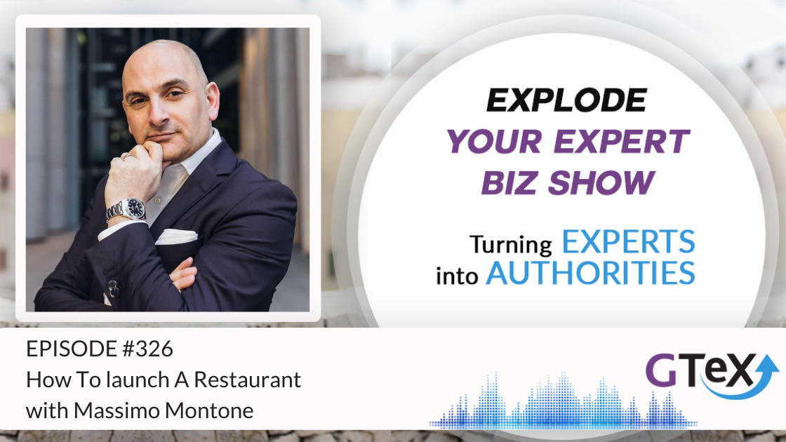 Massimo Montone on How To Launch A Restaurant